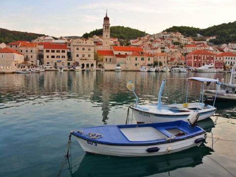 Pucisca on Island of Brac in Croatia