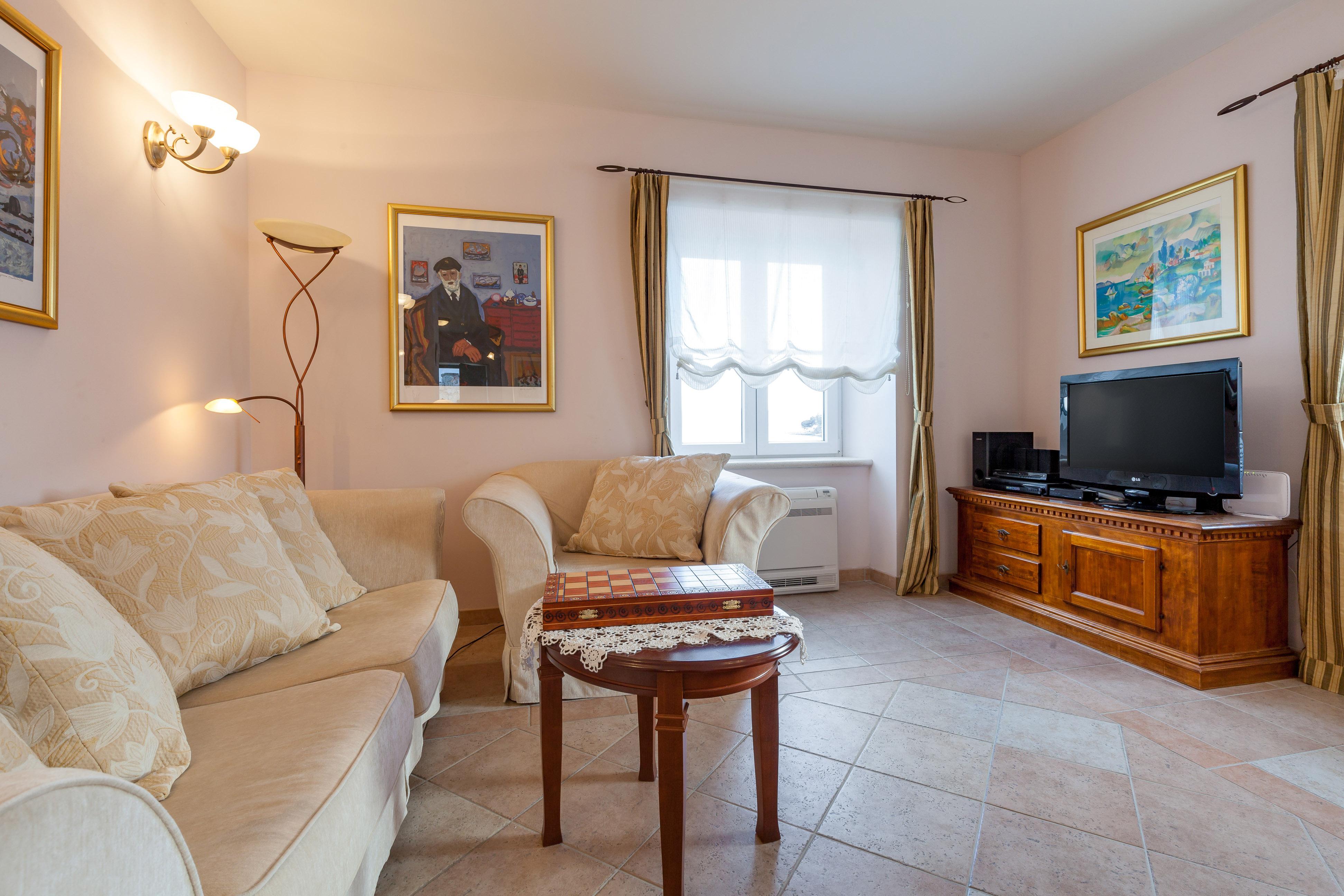 Living room in the Villa Mir Vami