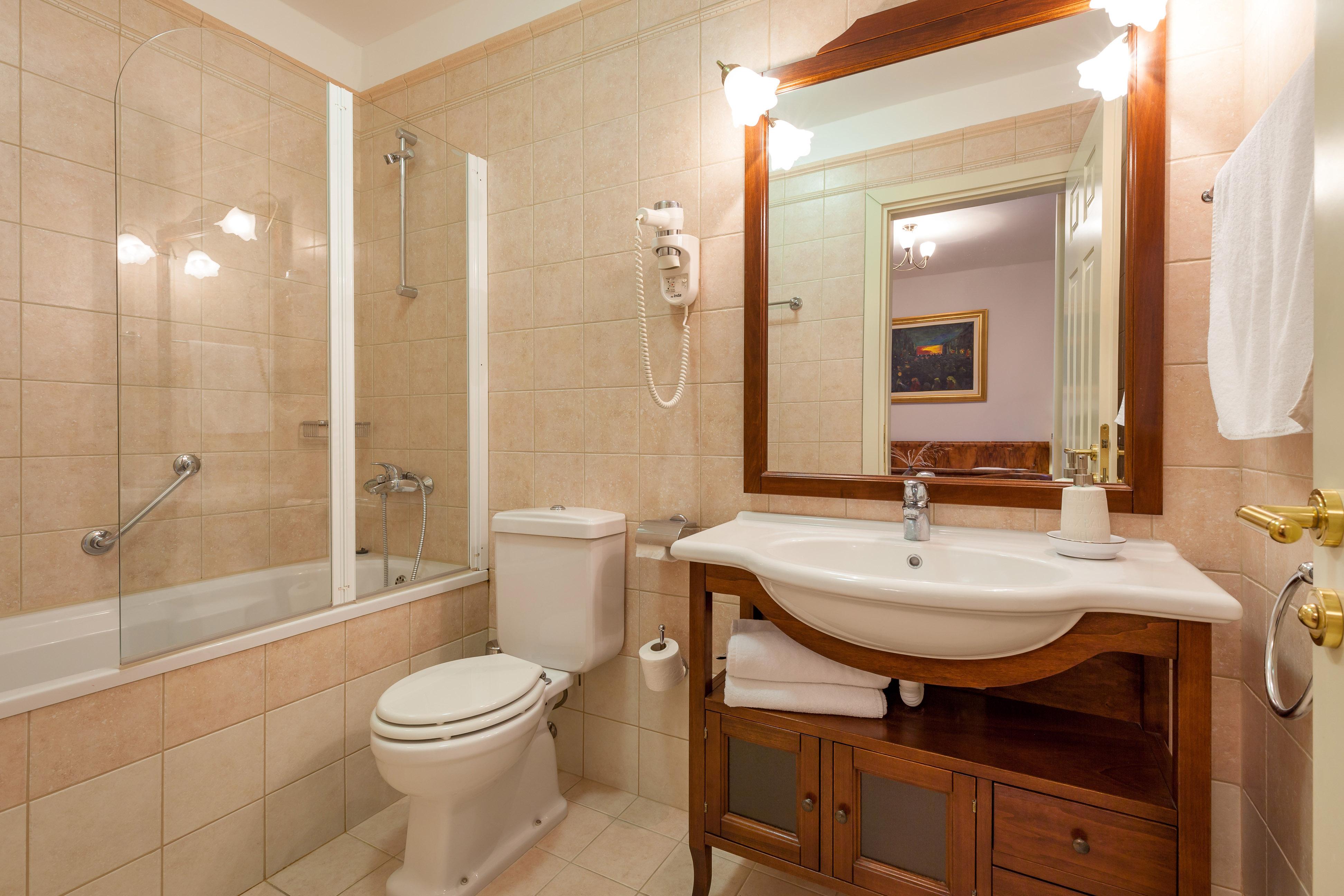 Bathroom in the Villa Mir Vami